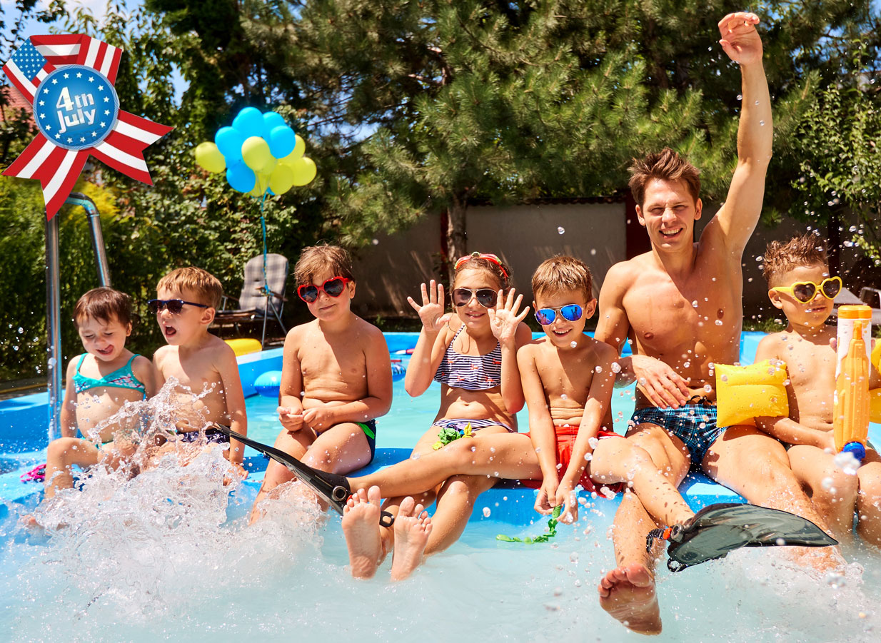 4th Of July Pool Party Fun And Water-Safety Tips