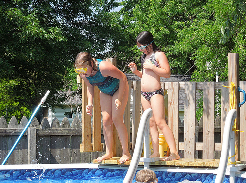 Swim Lessons Are More Fun and More Educational With Two!