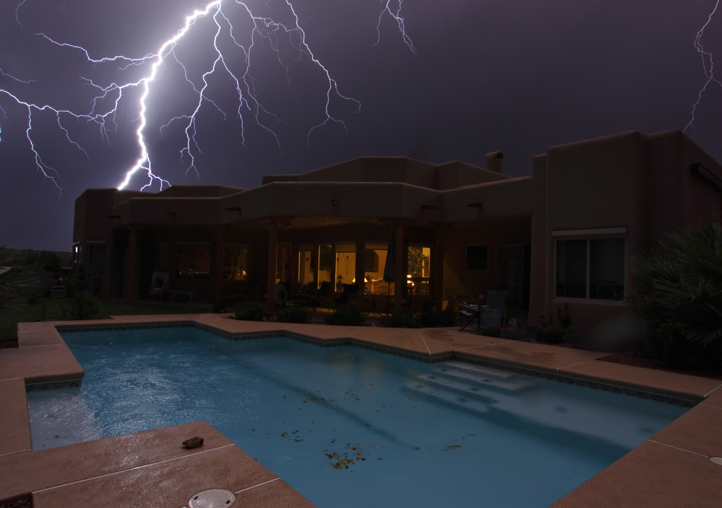 Storms & Water Safety - How to Stay Pool Safe