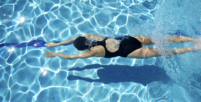 Swim Lessons As Exercise