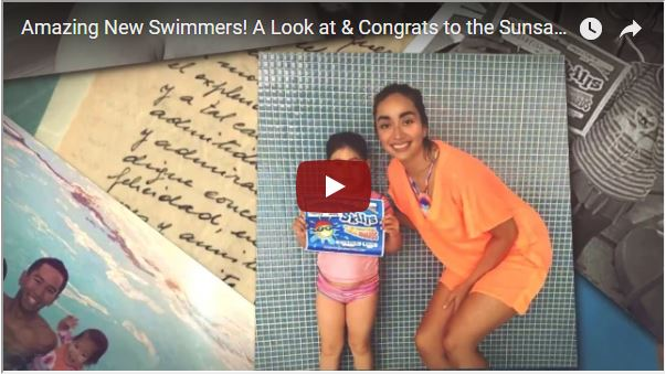 A Look Back at A Sunsational Year of Swimming Lessons!